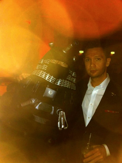 Michael Atters Attree Dalek chap dandy ball